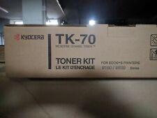 TONER NERO TK-70 ORIGINAL PER KYOCERA FS 9100DN 9120DN 9500DN 9520DN TK70 NUOVO