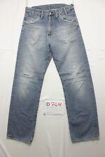 G-star low crotch jeans usato (Cod.D749) Tg.44 W30 L34 boyfriend