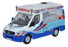 Oxford Diecast Dimascios Whitby Mondial Ice Cream Van 76WM002 (OO Scale)