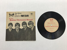 BEATLES-1964 UK FAN CLUB CHRISTMAS DISC-VINYL 7.0, SLEEVE 8.0 - NO INSERT