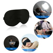 100 Pure Silk Sleeping Sleep Soft Eye Mask Blindfold Lights out Travel Relax Oz