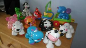 Fisher Price Amazing Animals Pig Cow Hippo Polar Bear Tiger  etc  You Choose one