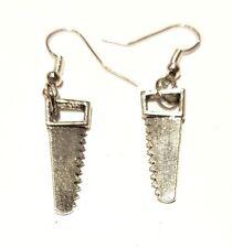 Earrings Hce415 Hand Made Saw