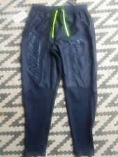 MENS NIKE PHENOM TRACK RUNNING PANTS TROUSERS SIZE M (BV4811 451) NAVY