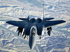 MILITARY AIR PLANE BOMBER FIGHTER JET MISSILE ROCKET F-15 POSTER PRINT BB943A