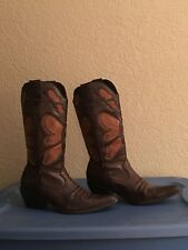 LADIES WESTERN STYLE BOOTS....SIZE 7