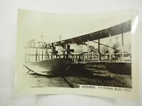 "Lockheed F-1 Flying Boat 1916 B&W photo from a large collection 5"" x 3.75"