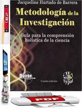 Mega pack 30 libros PDF de Metodología de la Investigación y Proyectos.