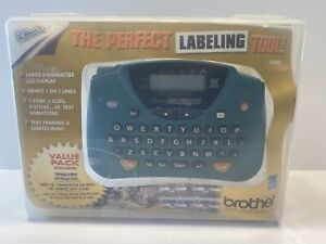 Brother PT-65 P-Touch Home & Hobby Label Maker Portable Value Pack Tested Works