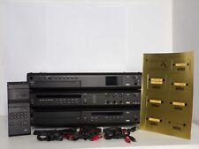 Komplette Anlage Braun Atelier HiFi LE C4 CD4/2 R4/2 RC1 schwarz, sehr gt. Zustd