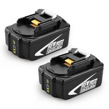 2X BL1850 Battery For Makita 18 V 5.0Ah Lithium LXT BL1840 BL1815 BL1830 BL1860