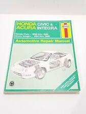 HAYNES 42025 - Honda Civic 1996-1998, Acura Integra 1994-1998 Automotive Repair