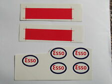 "Dinky Supertoys 945 AEC ""Esso"" Fuel Tanker Decals/Stickers"