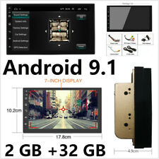 2+32GB Car GPS Navigation Stereo Double 2Din Android 9.1 Head Unit with  7 inch