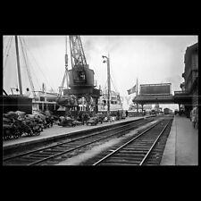 Photo B.004056 SS ISLE OF THANET DOVER FERRY 1930 PORT CALAIS GARE MARITIME
