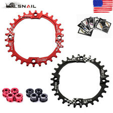 SNAIL 104BCD 30T Chainring & Bolts MTB Bike Narrow Wide Single Speed Chainwheel