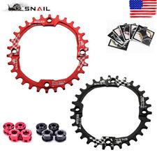 SNAIL 104BCD 30T Chainring & Bolts MTB Bike Narrow Wide Single Speed Chainwheel
