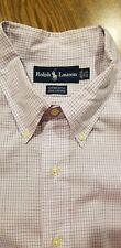 Mens Ralph Lauren YARMOUTH Dress Shirt 17 - 34/35