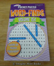 NEW Pocket Puzzle Word-Finds Vol 154 ~ Kappa Word Search