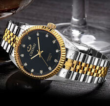 CHENXI Luxury for Men and women Watch Silver Between the Gold Rhinestone Lover's