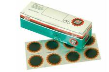 TIP-TOP Box of 100 round bike repair patches for punctures F-1