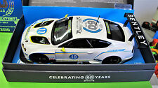 """Scalextric  Bentley Continental GT3  #10  """" CELEBRATING 60 YEARS """"   Ref. C3831A"""