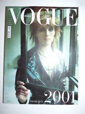 Magazine mode fashion VOGUE ITALIA #605 gennaio 2001 prediction 2001