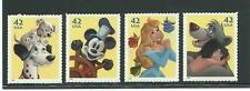 Cat. No. 4342-4345, The Art of Disney - Imagination Set of 4 single stamps.