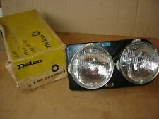 1966 66 CHEVROLET CHEVELLE SS NOS GUIDE LH HEADLAMP ASSEMBLY W/T-3 BULBS 5957583