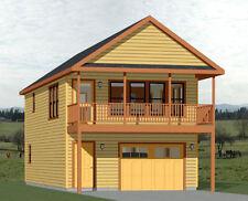 20x40 House -- 1 Bedroom 1.5 Bath -- 1,053 sq ft -- PDF Floor Plan -- Model 6I