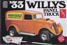1933 Willys Panel Truck 1/25th Plastic Model Kit AMT #879 NIB Drag - Stock NIB