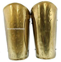 Antique Brass 300 Spartan Movie Arm Guard Replica Wearable Arm Guard