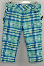 OAKLEY ~ Albatross Plaid Capri Golf Pants ~ Women's Size 0 ~ NWT ~ MSRP $82