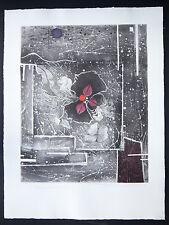 Renée Lubarow litho signée main numérotée/55 - Benezit Abstrait lyrique