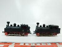 BG306-1# 2x Märklin H0/AC Tenderlok/Dampflok geprüft, sehr gut