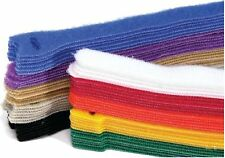 50 pieces x 203mm Long Mixed Color Hook & Loop Reusable Cable Ties Straps