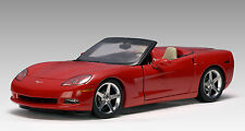 2005 CHEVROLET CORVETTE C6 RED 1:18 Scale AUTOart #71221 LIMITED TO ONLY 6000