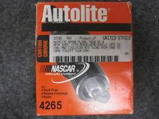4 NEW AUTOLITE SPARK PLUGS # 4265, HARLEY DAVIDSON