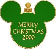 Disney Merry Christmas GREEN Ornament Mystery Pin