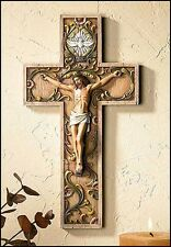 Holy Spirit Wall Crucifix 10 inches NEW (NS804)