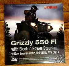 Yamaha 550/700 Grizzly Double Sided Promotional DVD, Unopened