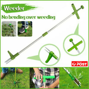 Weed Puller Garden Golves Claws Weeder Twister Twist Pull Lawn Root Remover Tool