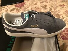 PUMA SUEDE CLASSIC NEW VINTAGE GREY   NATURAL MENS 9 SNEAKERS 339030-20 5673638f8