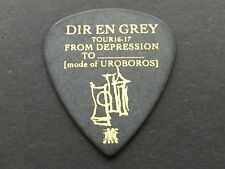 Guitar Pick DIR EN GREY TOUR 16-17 FROM DEPRESSION TO UROBOROS Black ESP Kaoru
