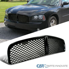 Fit Dodge 05-10 Charger ABS Mesh Style Black Front Hood Bumper Hood Grill Grille