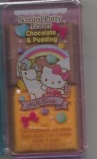 Sanrio Hello Kitty Eraser Scented Putty Eraser Chocolate and Pudding