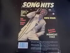 David Bowie - Song Hits Magazine 1984