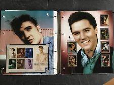 Elvis Presley stamps collection in binder