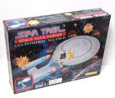 Star Trek:Next Generation Space Talk Enterprise D Ship-Playmates #6106- Boxed