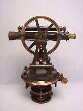Antique Smith Beck & Beck London Surveyor's Transit Compass  Rare Attic Find